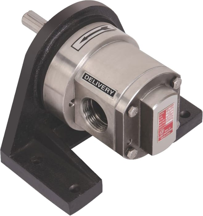 STAINLESS STEEL ROTARY GEAR PUMP-New